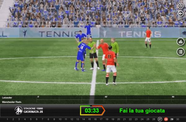 Calcio virtuale - le scommesse al tempo del Coronavirus (COVID-19)