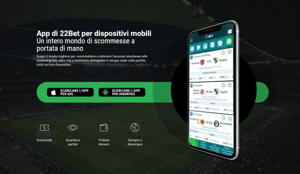 scommesse app mobile
