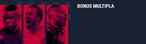 bonus sulle scommesse multiple, bonus sulle multiple