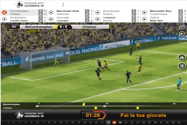Sport virtuali e Calcio virtuale su Rabona scommesse