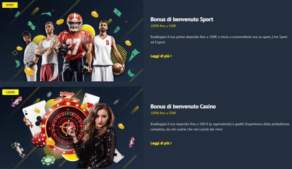 yonibet bonus e promozioni