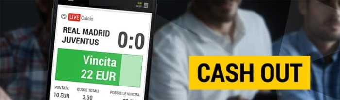 cash out - scommesse